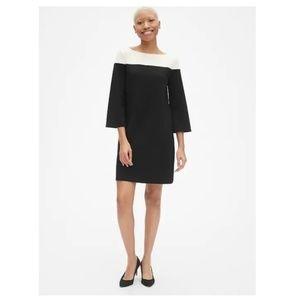 NWT Gap $70 Bell Sleeve Shift Dress Petite L v105